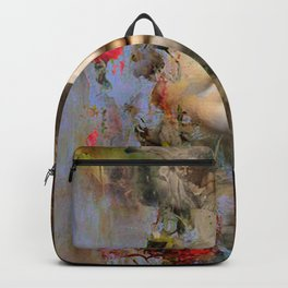 A moment in purgatory Backpack