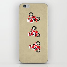 Excitebike iPhone Skin