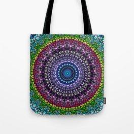 Magical Gems Kaleidoscope Tote Bag