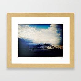 Sydney Harbour Bridge Framed Art Print