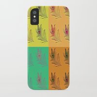 popart iPhone & iPod Cases featuring Feathers PopART by UnifiedGlory