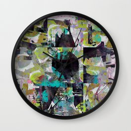 Infectious Infrastructure Wall Clock
