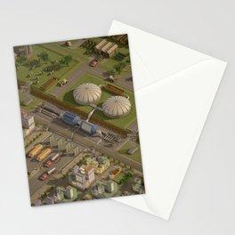 Biogas City Stationery Cards