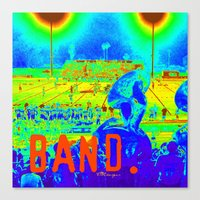 band Canvas Prints featuring BAND. by TMCdesigns