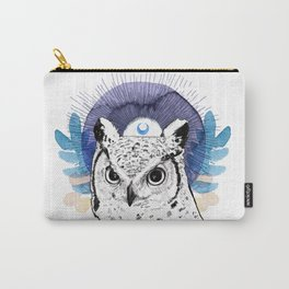 The Owl (Spirit Animal) Carry-All Pouch