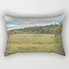 Vintage Bird Sanctuary - Infinity Photography Rectangular Pillow