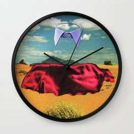 Interior Scape I Wall Clock