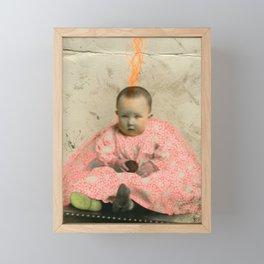The Future's Fluo King Framed Mini Art Print