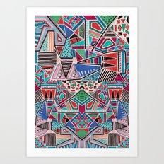 JAMBOREE M O T I F Art Print