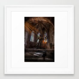 Old Party Tune Framed Art Print