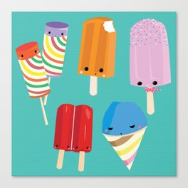 Ice Scream Social Canvas Print