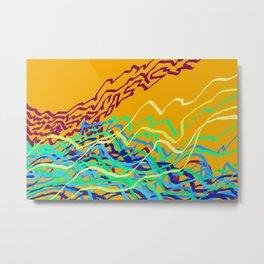 Coastal Frequencies 1 Metal Print