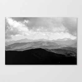 Sunset in the Adirondacks Canvas Print