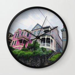 Midwestern Pink Ladies Wall Clock