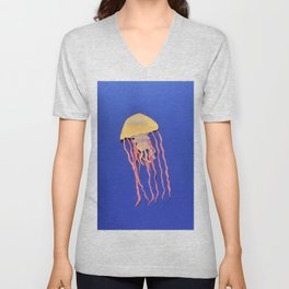 King Jelly Unisex V-Neck