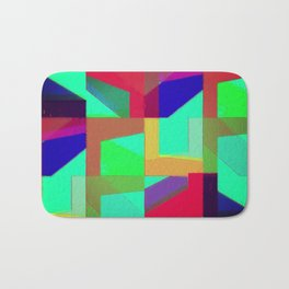 Colorful Truth. Green. Bath Mat