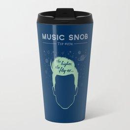 The Higher, The Fly-er — Music Snob Tip #074 Travel Mug
