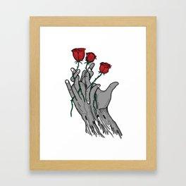 The Roses Framed Art Print