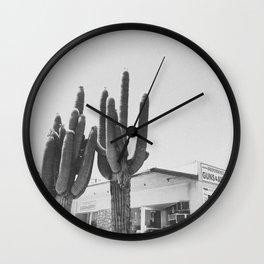 CACTUS / Yucca Valley, CA Wall Clock