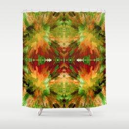 TIME WARP Shower Curtain
