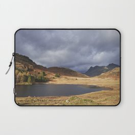 Blea Tarn with Langdale Pikes beyond. Cumbria, UK. Laptop Sleeve