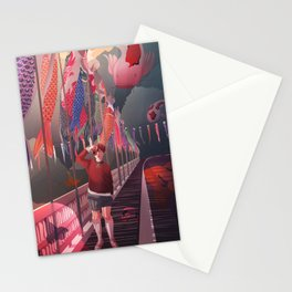 Swimmingly Stationery Cards