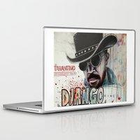 django Laptop & iPad Skins featuring Django / Jamie Foxx by Jessis Kunstpunkt.