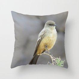 Says Phoebe 2 Throw Pillow
