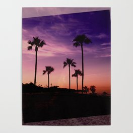 Postcards from the Beach Poster