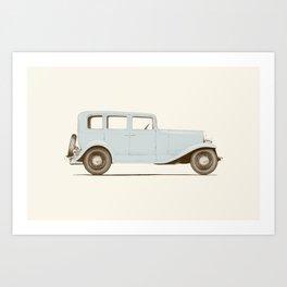 Car of the 1930's Art Print