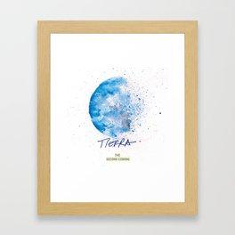 Tierra Second Coming Framed Art Print