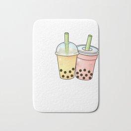 Love Bubble Tea product for Boba Tea Fans  design Bath Mat