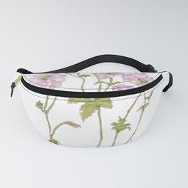 Pink Anemone Fanny Pack