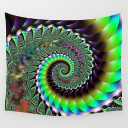 Fractal Staircase Wall Tapestry