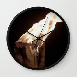 Fire from Ice - FredPereiraStudios.com_Page_17 Wall Clock