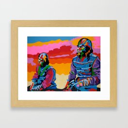 Magnificent Brutes Framed Art Print