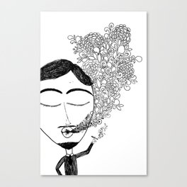The Blow Canvas Print