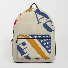 Vintage poster - Flag Day Backpack