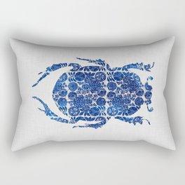 Blue Beetle I Rectangular Pillow