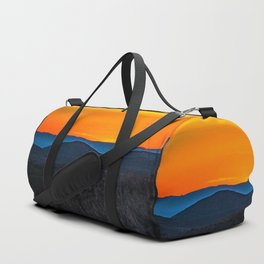 Rolling Hills at Sunset Duffle Bag