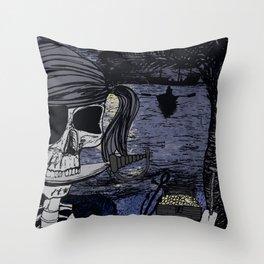 Pirates Life Throw Pillow