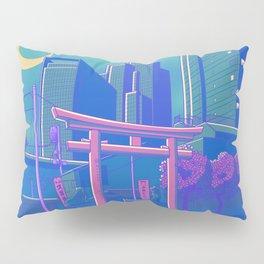 Neon Moon Pillow Sham