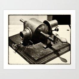 Phonograph Prototype Art Print