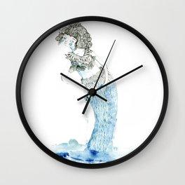 Water woman Wall Clock