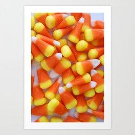 Candy Corn Galore Art Print