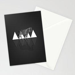 Zebra thought Stationery Cards