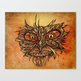 Face Flow Color Canvas Print
