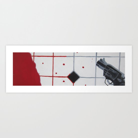 A Bullet To The Head Art Print