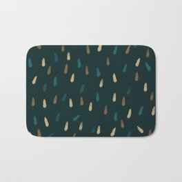 Wonderful Dreamy Raindrops Ikuchi Bath Mat