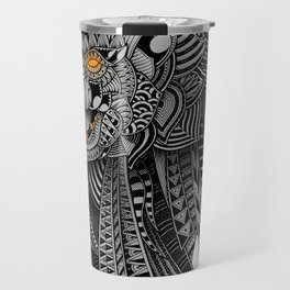 Barbarian Lion Travel Mug